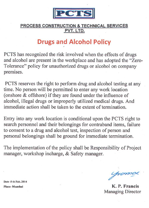 drugs-alcohal-policy